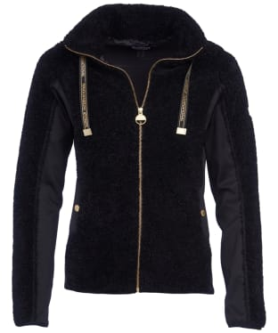 Women's Barbour International Competition Sweater - Black