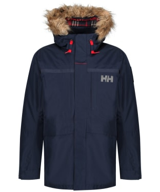 Men's Helly Hansen Coastal 2 Waterproof Parka - Navy