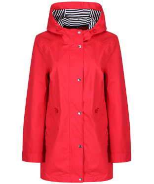 Women's Joules Shoreside Waterproof Jacket - Chilli Red