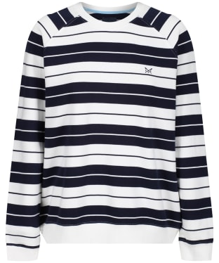 Women's Crew Clothing Stripe Sweater - Navy Stripe