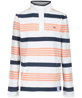 Women's Crew Clothing Padstow Sweater - Salmon Stripe