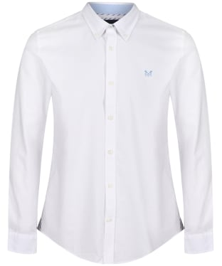 Men's Crew Clothing Slim Oxford Shirt - White