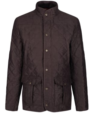Men's Laksen Hampton Quilted Jacket - Brown