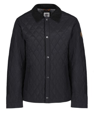 Men's Timberland Mount Crawford Quilted Overshirt - Black
