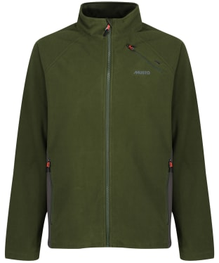 Men's Musto HTX Full Zip Fleece - Dark Moss