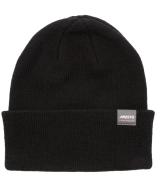 Men's Musto Land Rover Beanie - True Black