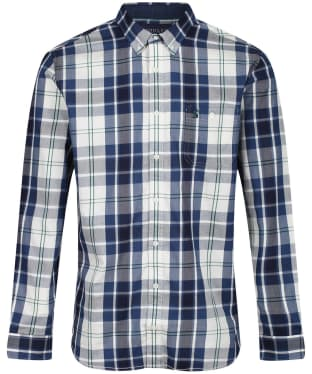 Men's Joules Hewitt Shirt - Cream / Blue Check