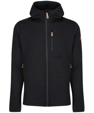 Men's Fjallraven Keb Fleece Hoodie - Black