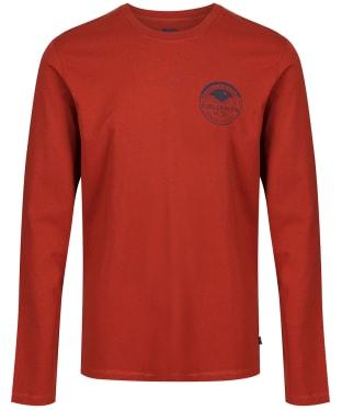 Men's Fjallraven Nature Badge L/S T-Shirt - Autumn Leaf
