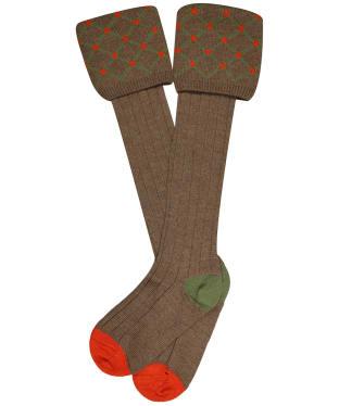 Pennine Regent Shooting Socks - Nutmeg