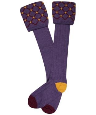 Pennine Regent Shooting Socks - Wild Heather