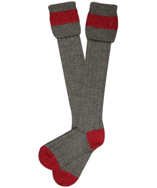 Pennine Byron Socks - Derby Tweed