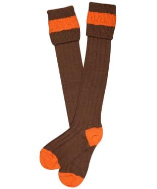 Pennine Byron Socks - Pecan