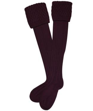 Pennine Chelsea Socks - Plum
