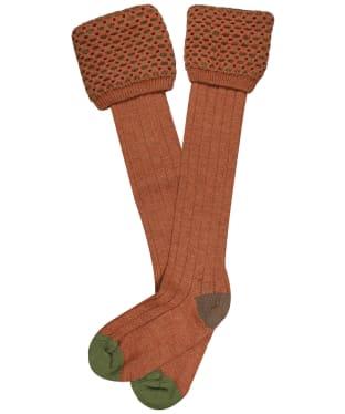 Men's Pennine Ambassador Shooting Socks - Cinnamon
