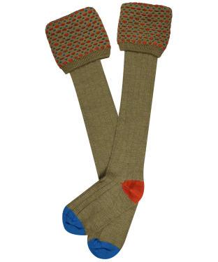 Men's Pennine Ambassador Shooting Socks - Old Sage