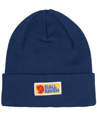 Men's Fjallraven Vardag Classic Beanie Hat - Storm