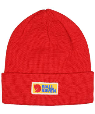 Men's Fjallraven Vardag Classic Beanie Hat - True Red