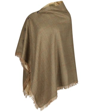 Women's Dubarry Hazelwood Tweed Poncho - Elm