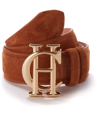 Women's Holland Cooper Classic Suede Belt - Tan