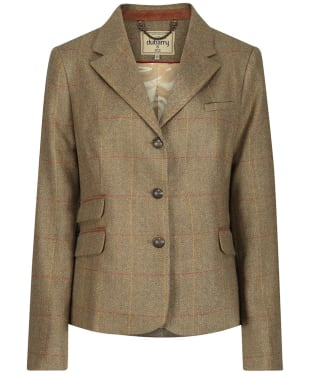 Women's Dubarry Fitted Tweed Buttercup Jacket - Elm