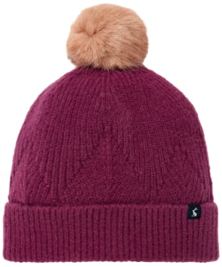 Women's Joules Thurley Hat - Plum