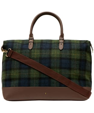 Women's Joules Fulbrook Holdall - Navy / Green Check