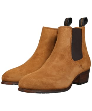 Women's Dubarry Bray Chelsea Boots - Suede - Camel
