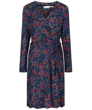 Women's Lily & Me Winter Wrap Dress - Navy