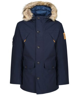 Men's Timberland Scar Ridge Waterproof Parka - Dark Navy