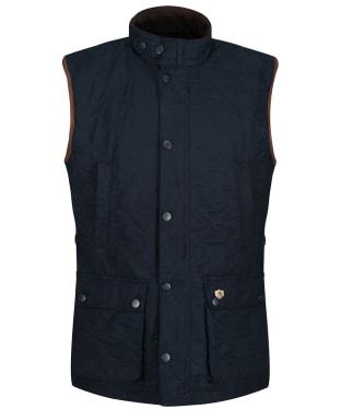 Men's Alan Paine Felwell Quilted Waistcoat - Dark Navy