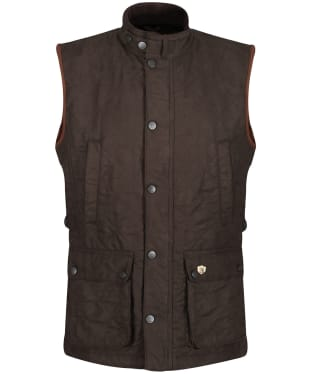 Men's Alan Paine Felwell Quilted Waistcoat - Olive