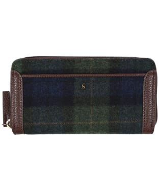 Women's Joules Fulbrook Purse - Navy / Green Check