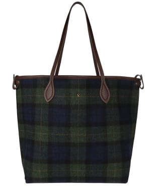 Women's Joules Fulbrook Tote Bag - Navy / Green Check