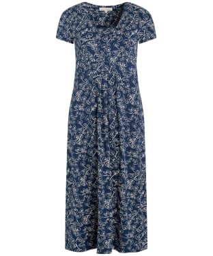 Women's Seasalt S/S Seed Packet Dress - Trailing Vine Harbour