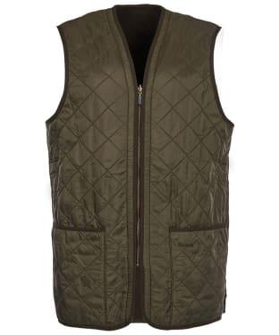 Men's Barbour Polarquilt Waistcoat / Zip-In Liner - Olive
