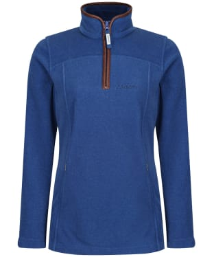 Women's Schoffel Tilton 1/4 Zip Fleece - Cobalt Blue