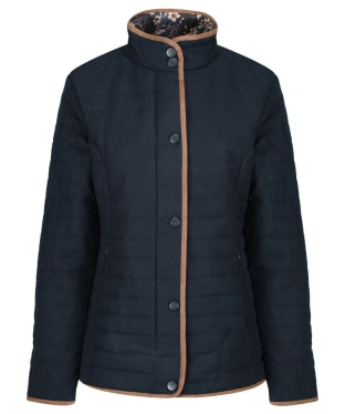 Women's Alan Paine Felwell Quilted Jacket - Dark Navy