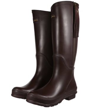 Women's Joules Collette Wellies - Dark Saddle