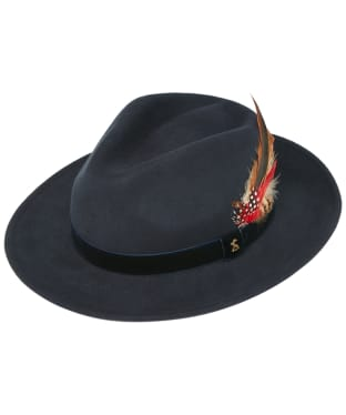 Women's Joules Fedora Hat - French Navy
