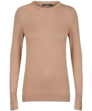 Women's Holland Cooper Crew Neck Knit - Dark Camel
