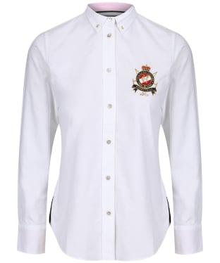 Women's Holland Cooper Classic Oxford Shirt - White