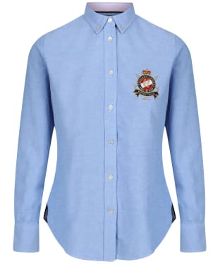 Women's Holland Cooper Classic Oxford Shirt - Chalk Blue