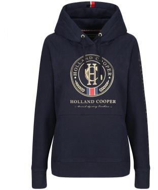 Women's Holland Cooper Heritage Hoodie - Ink Navy