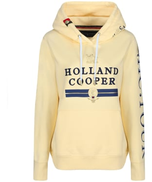 Women's Holland Cooper Iconic Hoodie - Lemon