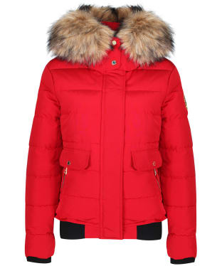 Women's Holland Cooper Ventina Puffer Jacket - Red