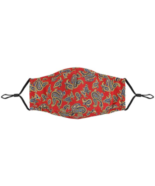 Soprano Paisley Face Covering - Red Paisley