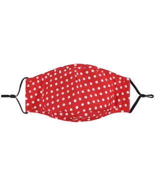 Soprano Polka Dot Face Covering - Red Polka Dot