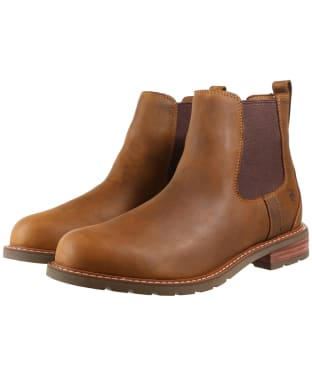Men's Ariat Wexford H2o Waterproof Boots - Weathered Brown