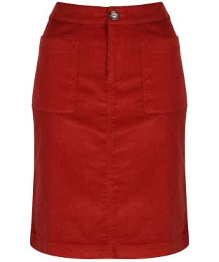 Women's Lily & Me Annabelle Cord Skirt - Brick